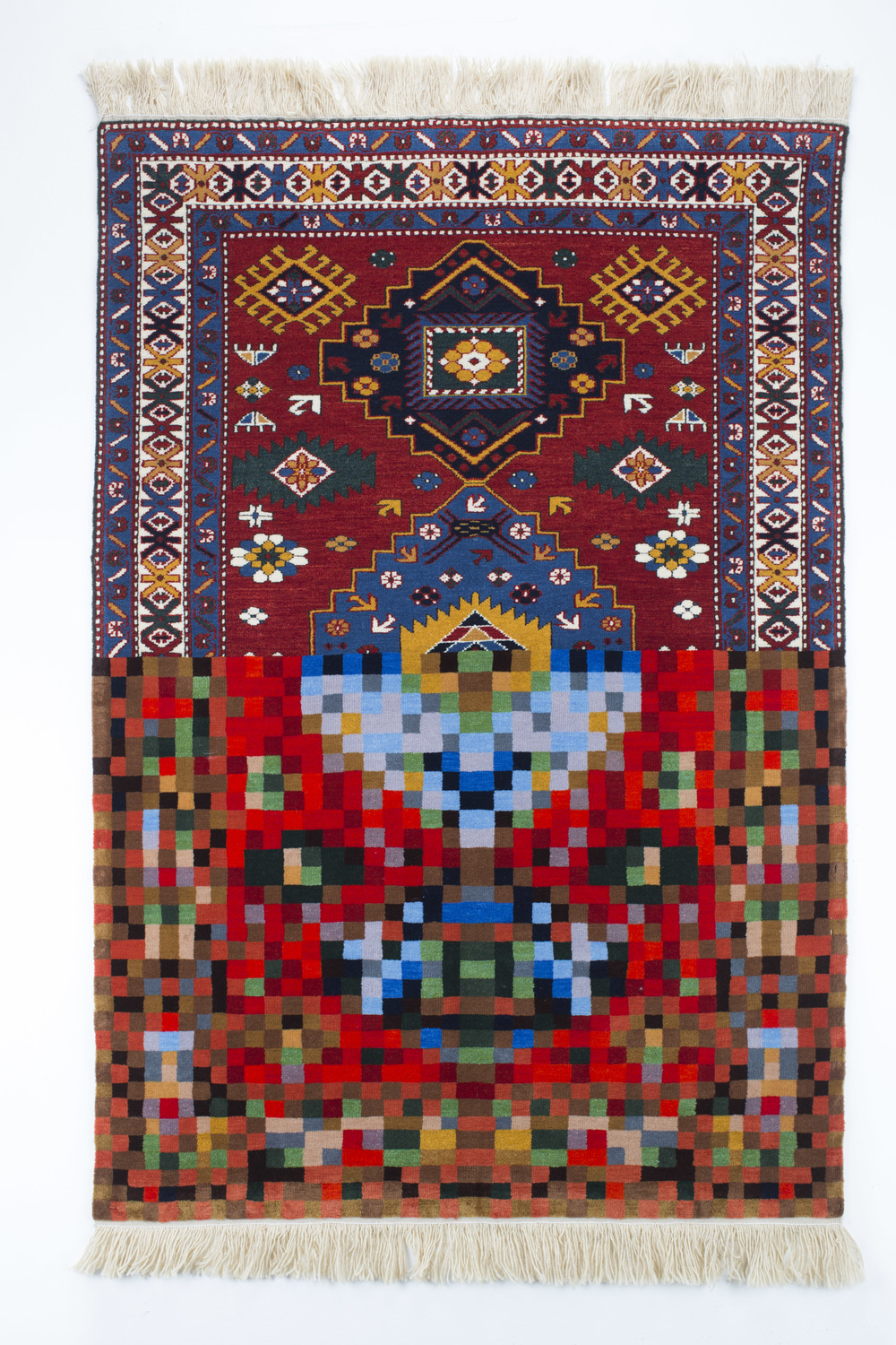 Tradition in Pixel. Faig Ahmed, 2010. Image Courtesy of Faig Ahmed Studio.  4,32 MB.jpg