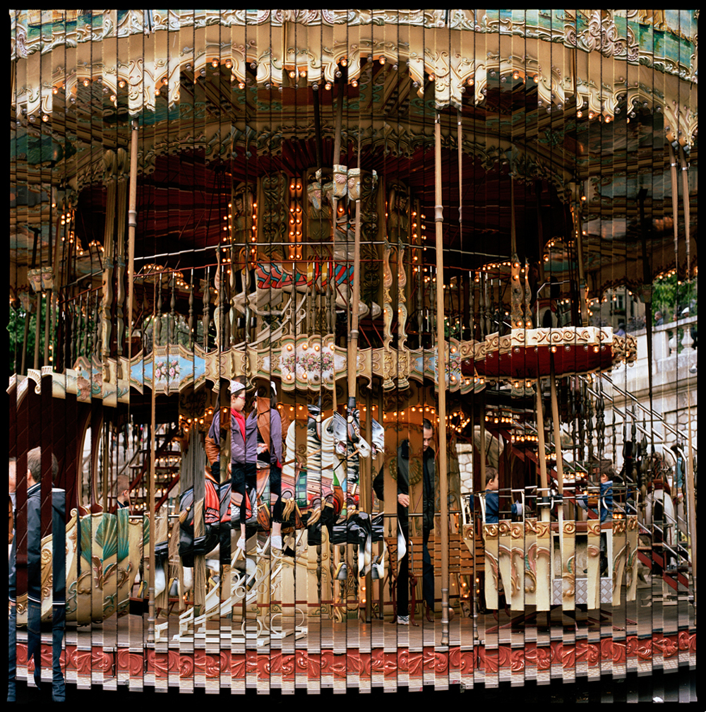 Title: Carrousel (from the Quantum Blink series)