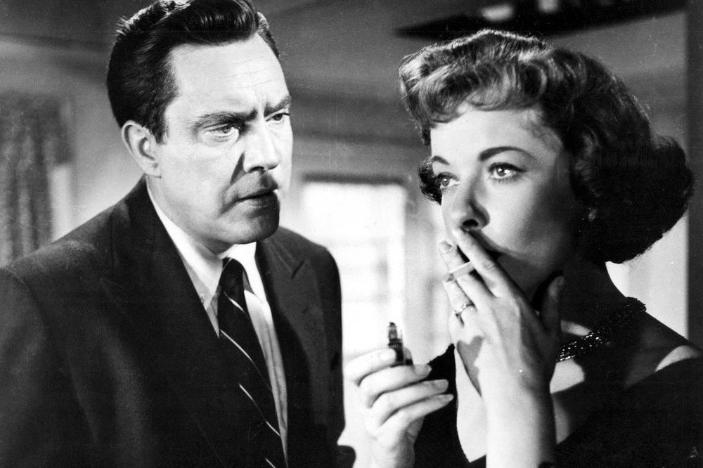 "Ida Lupino and Edmond O'Brien in ""The Bigamist"" (1953), directed by Ida Lupino; The Filmakers"