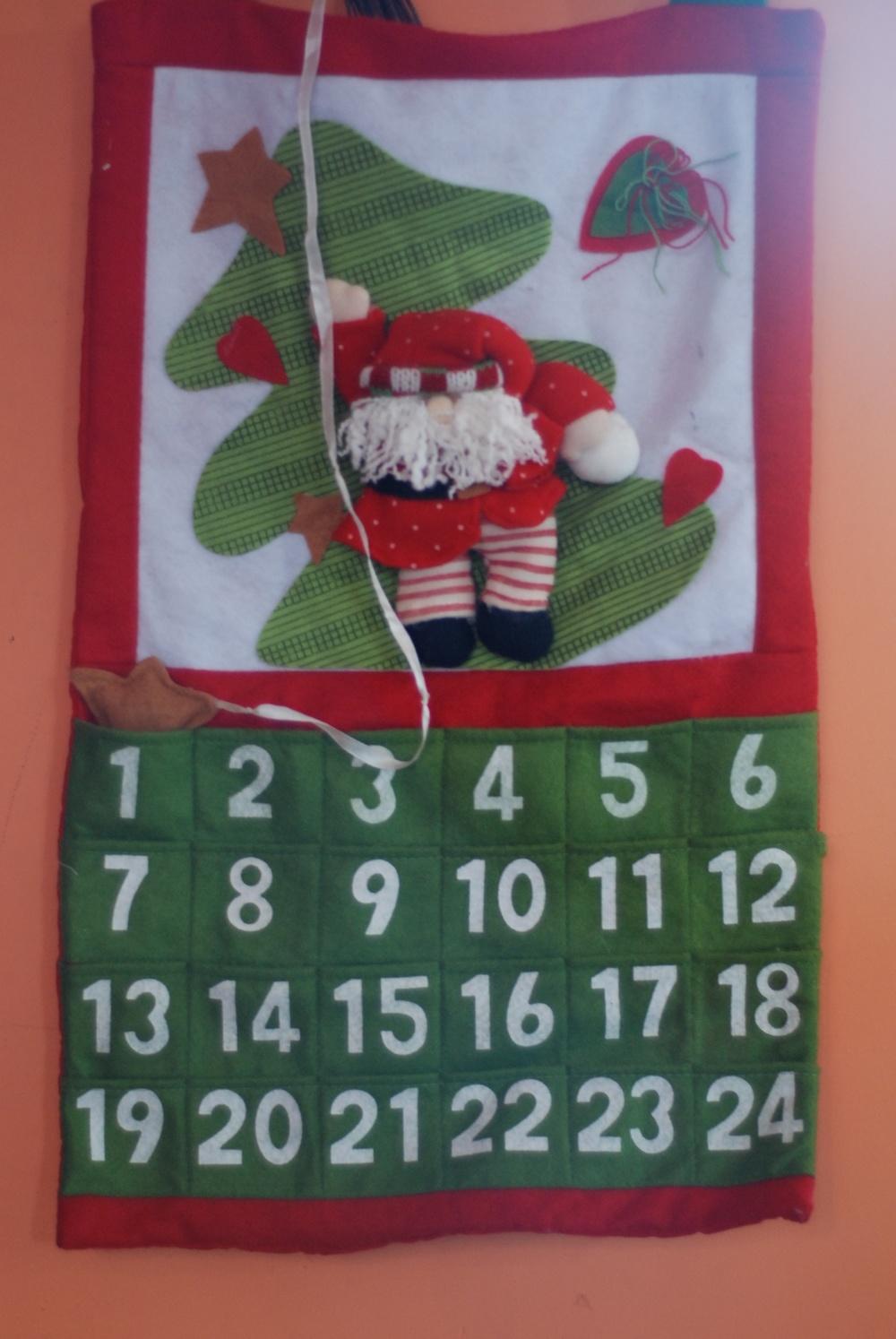 Nuestro calendario de Adviento de todos los años