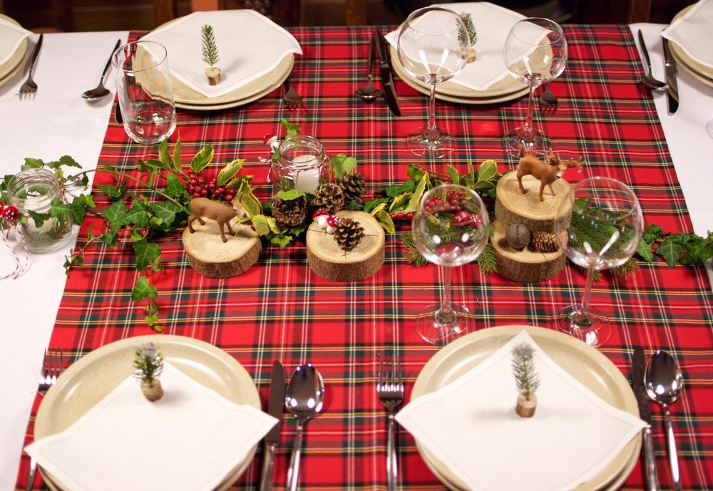 Nuestra mesa de Navidad del año pasado