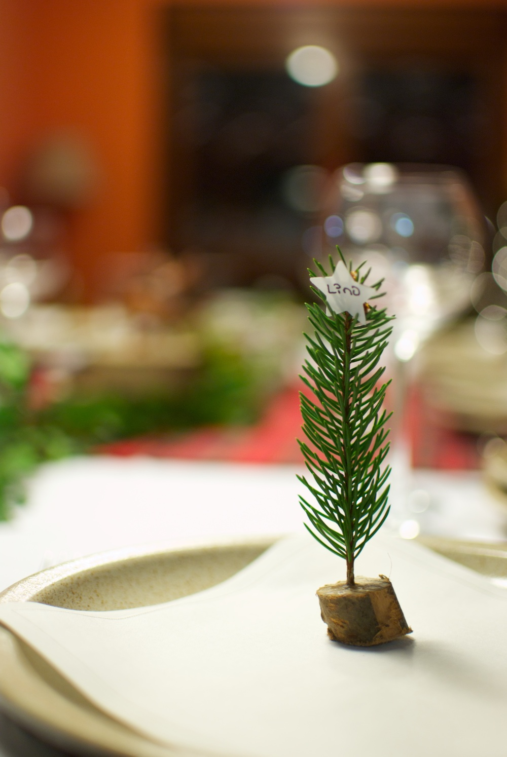 Placecard Navidad