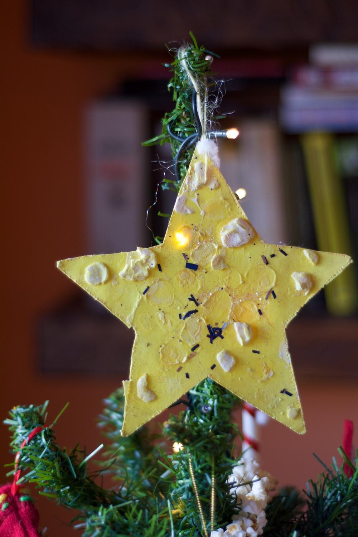 Estrella arbol navidad