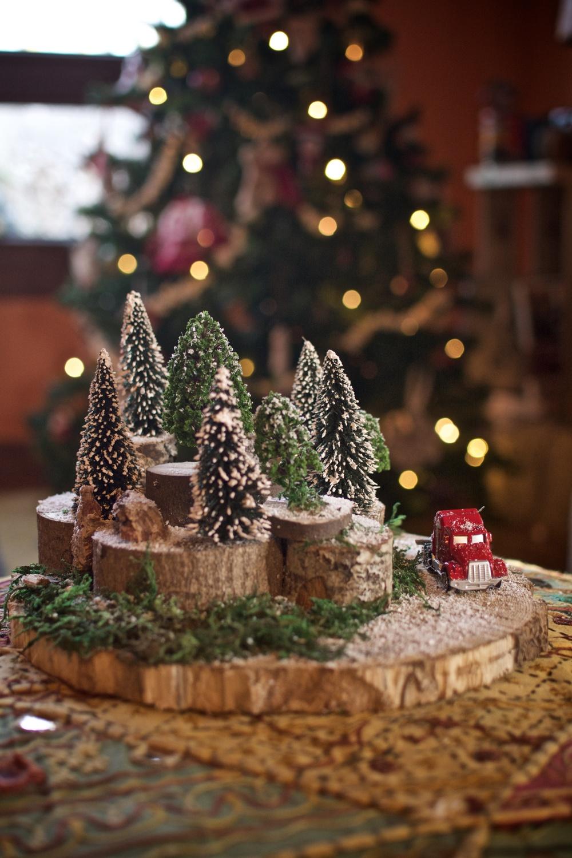 Diorama paisaje navidad 3