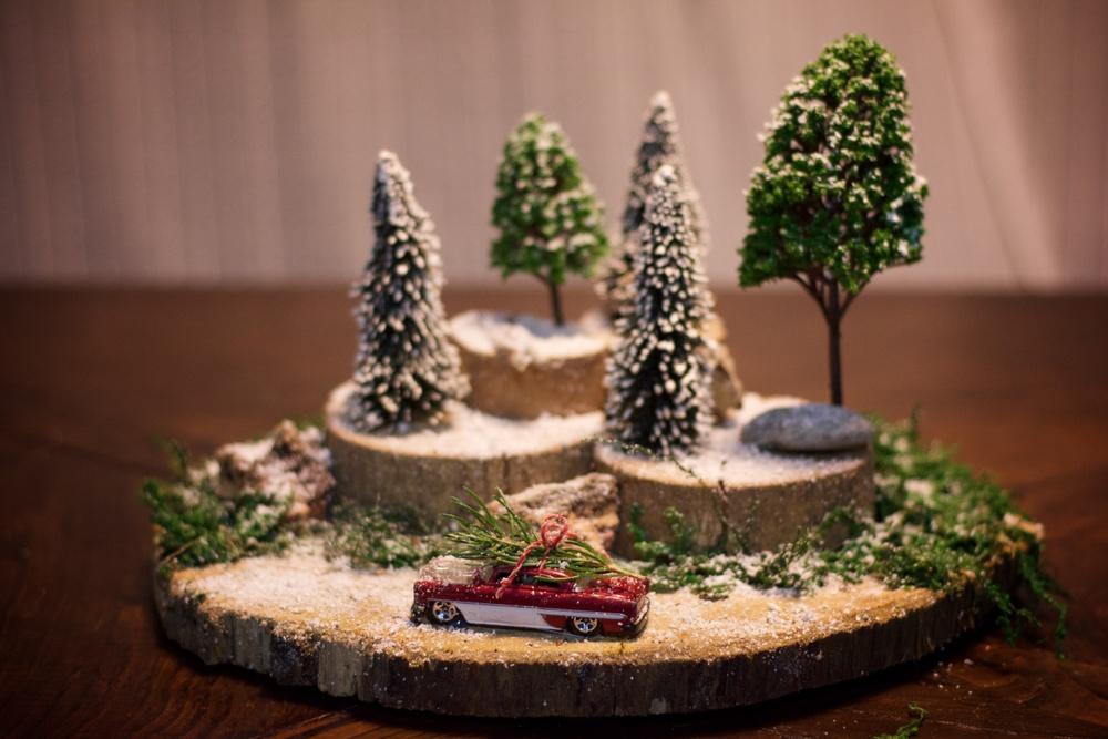 Diorama paisaje navidad 6