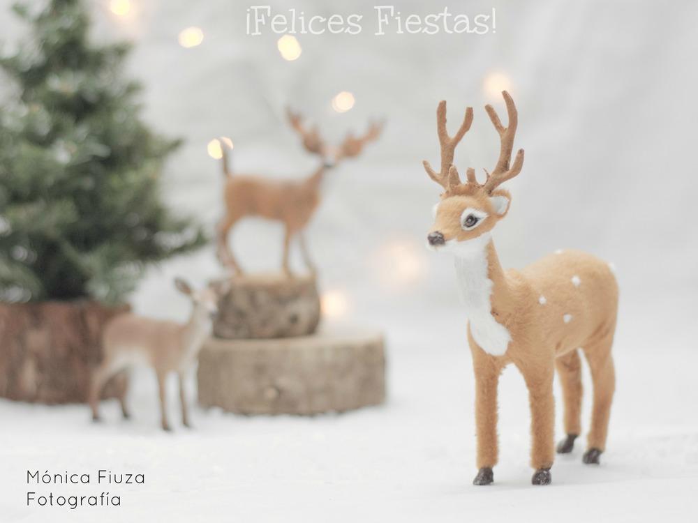 Ciervos Navidad