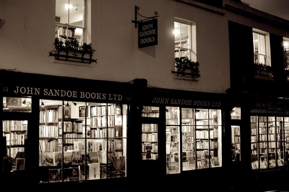 Chelsea bookstore