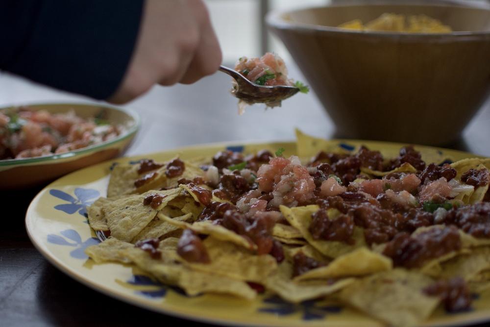 Receta nachos