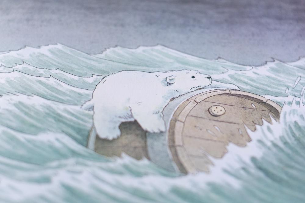 A d�nde vas osito polar
