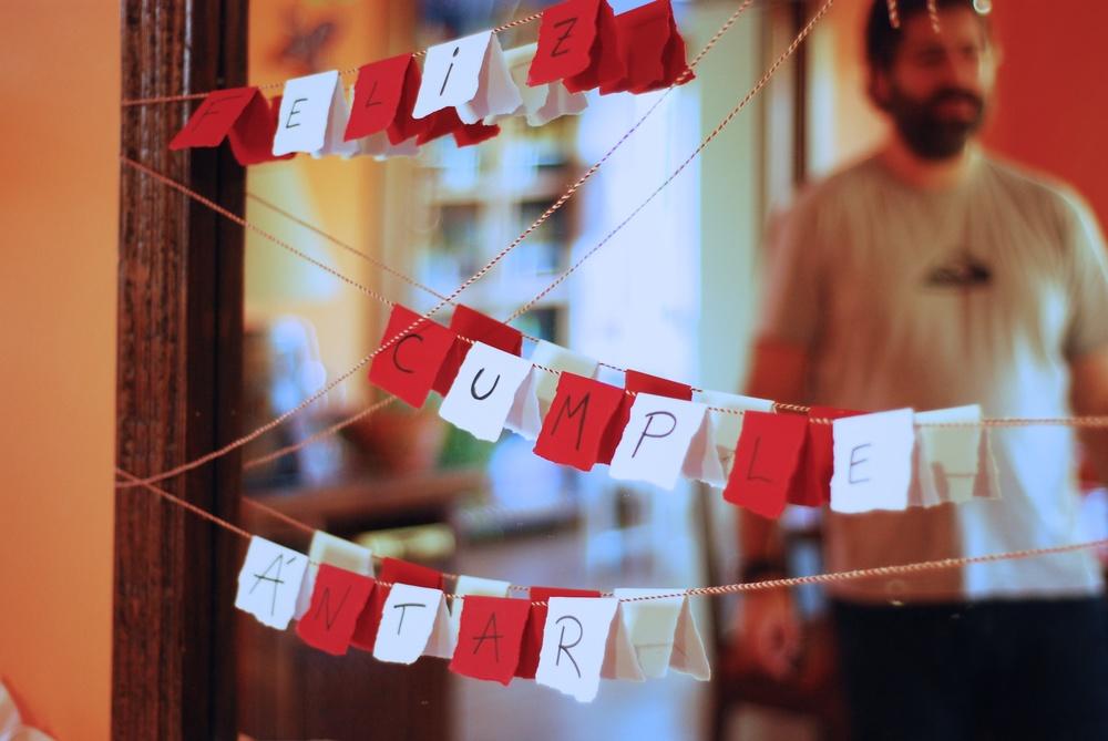 Cumpleaños Color Rojo