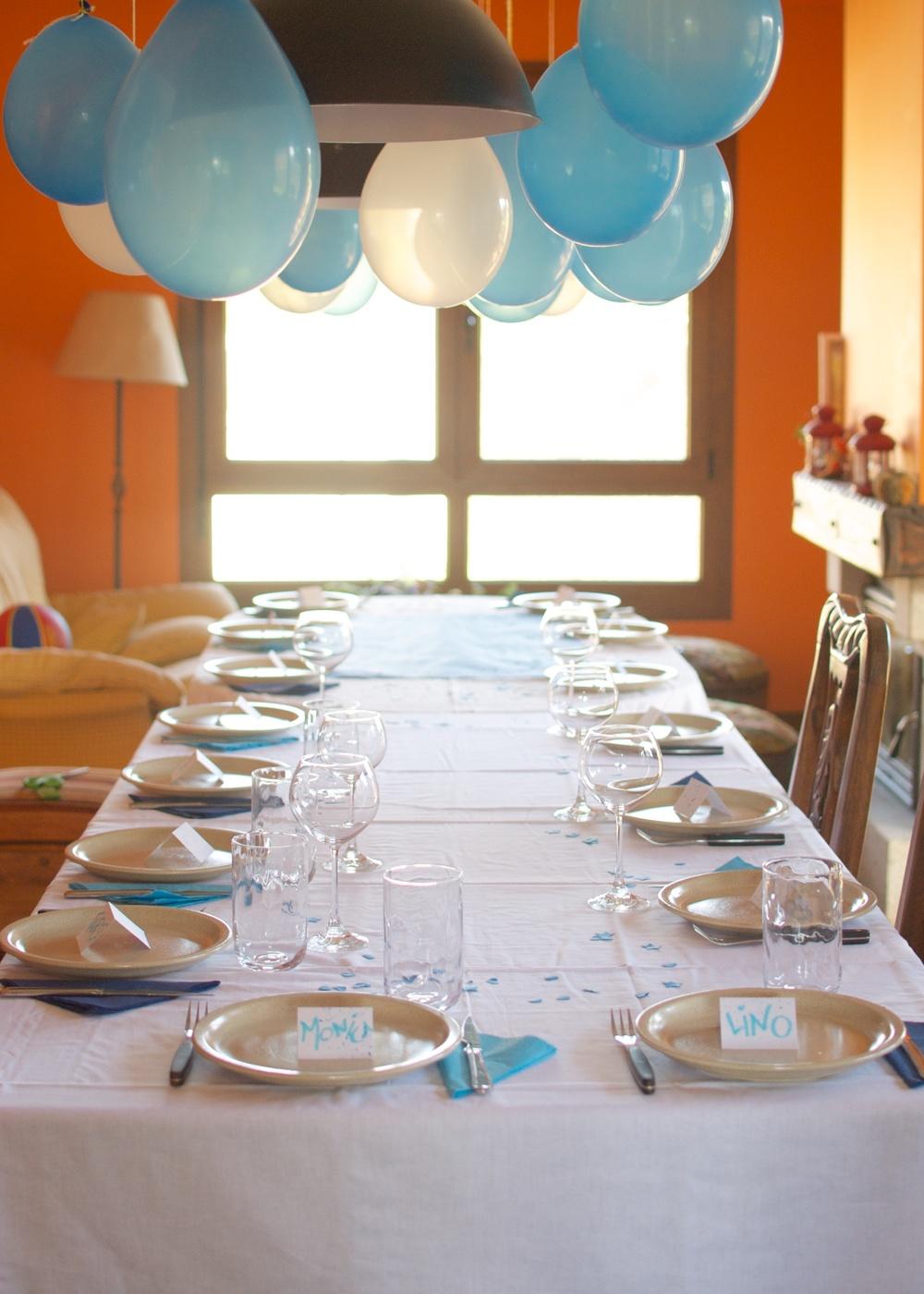 Fiesta cumpleaños Azul