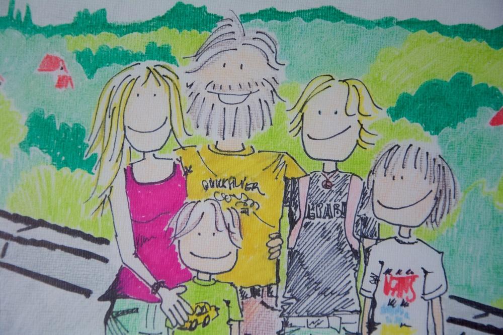 Dibujo Día de la Madre