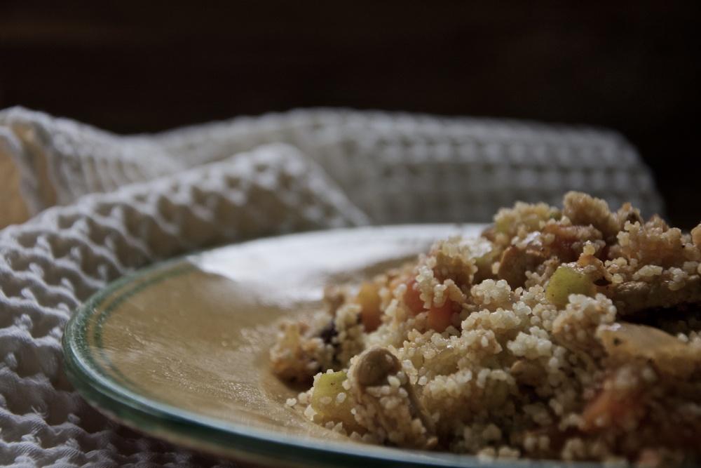Receta couscous
