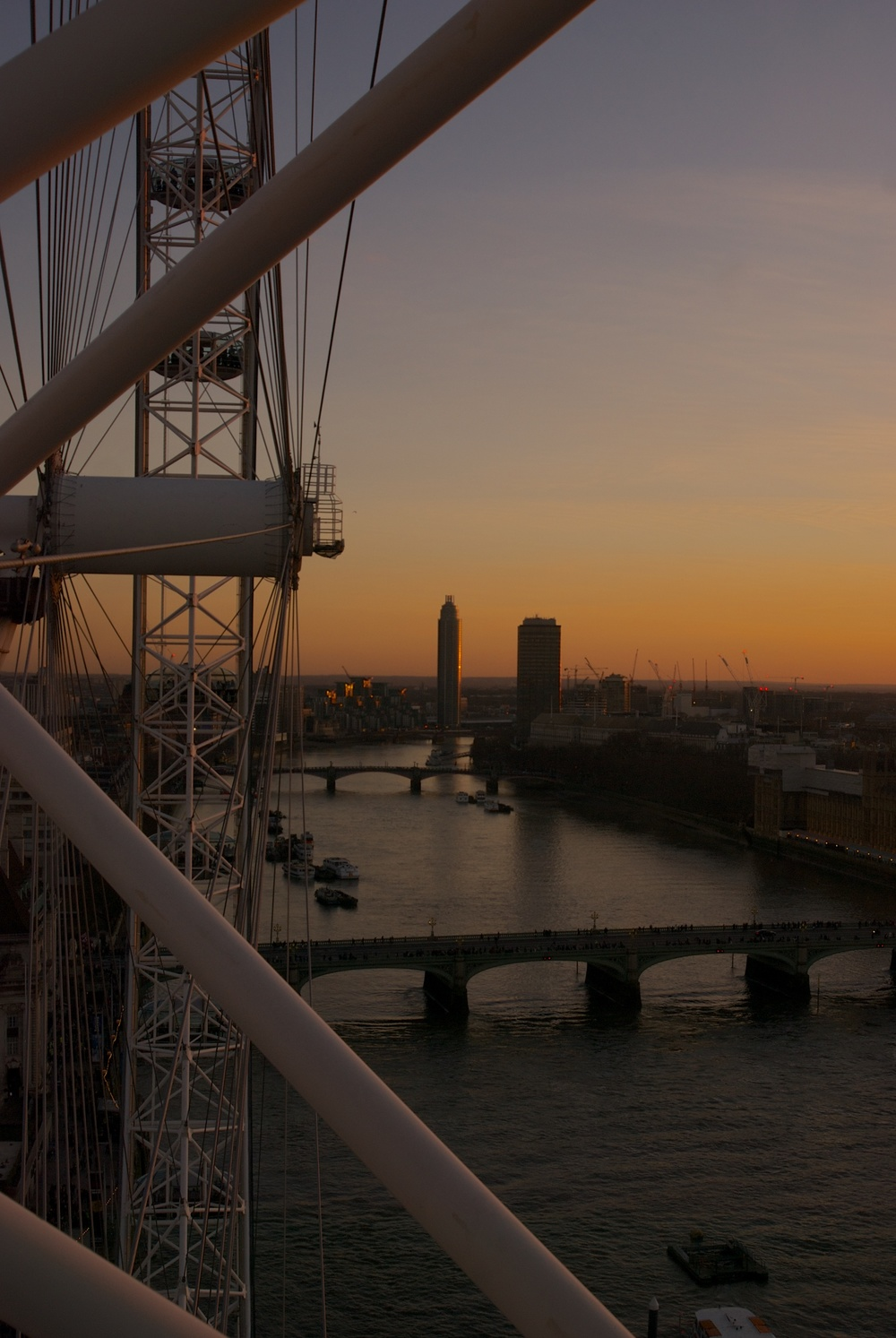 Desde el London Eye