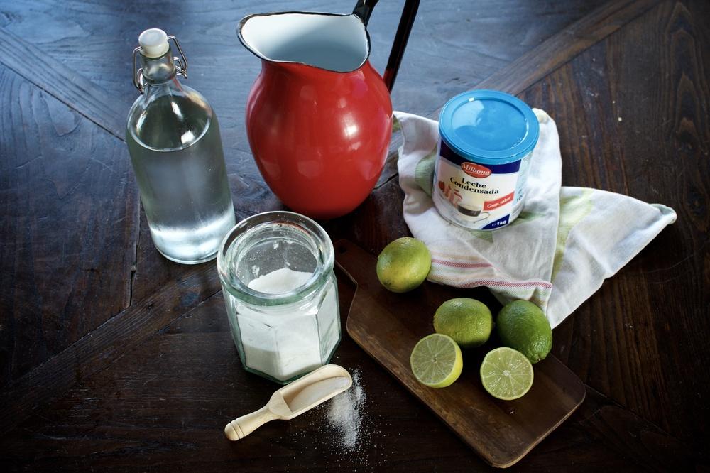 Receta limonada brasileña