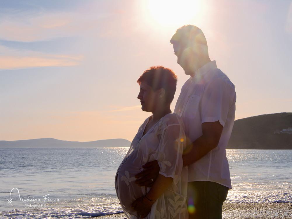 Fotografia embarazo Galicia