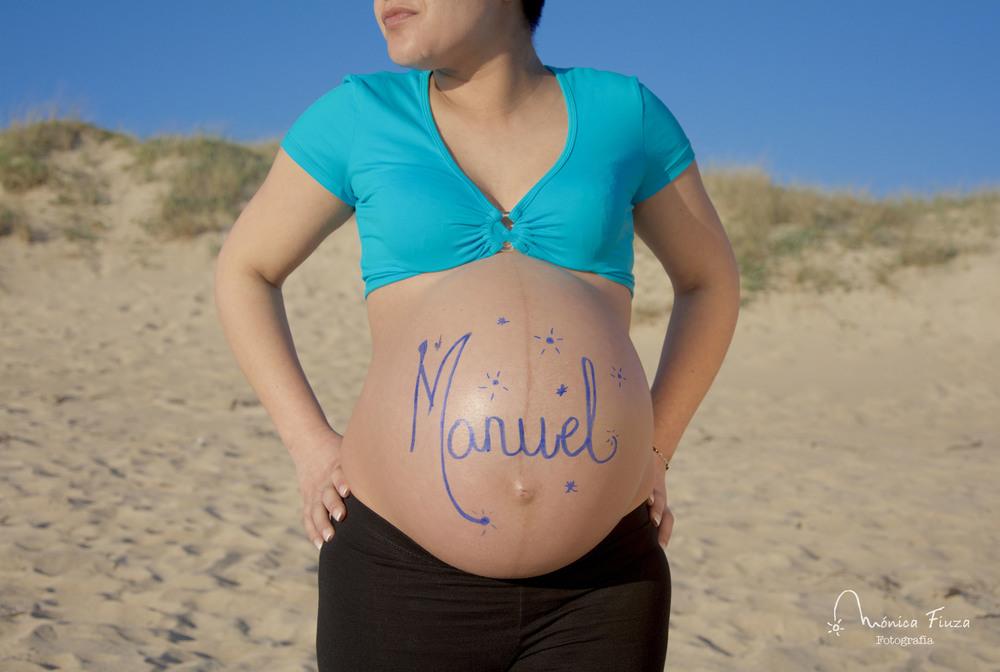 Sesión embarazo Galicia