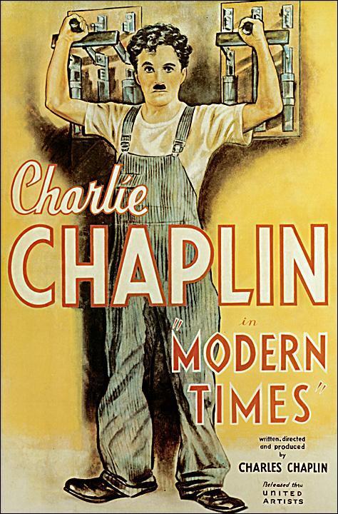 Charles Chapli Tiempos Modernos