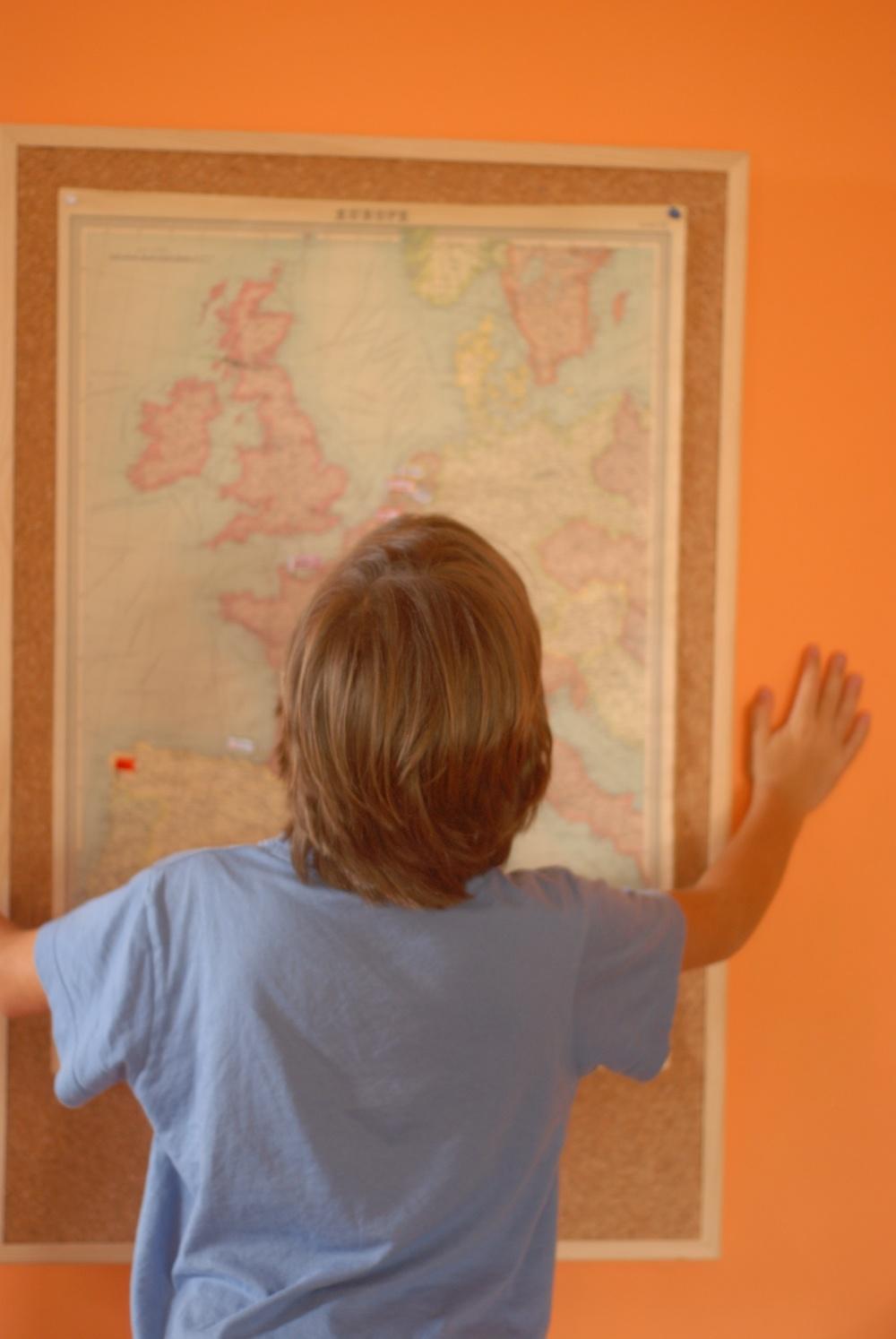 Mapa viaje Europa