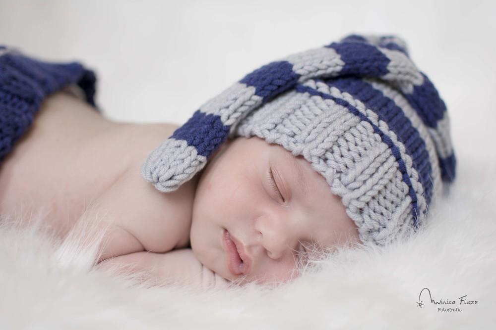 Sesion fotos recien nacido Galicia. Newborn