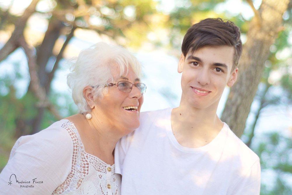 Sesion fotos abuelos y nietos