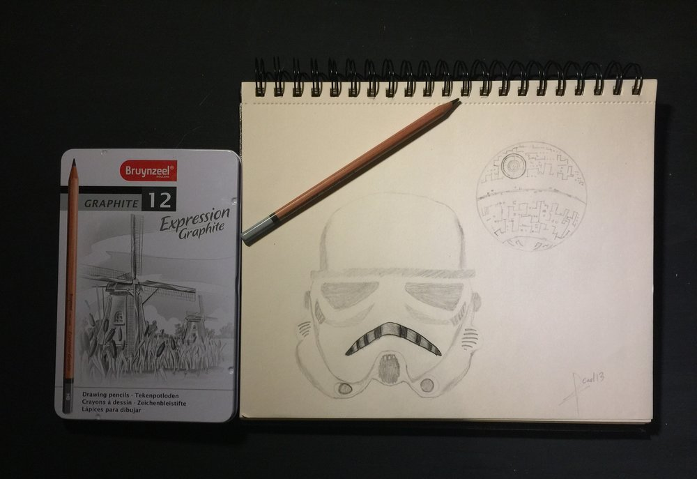 Dibujo Star Wars