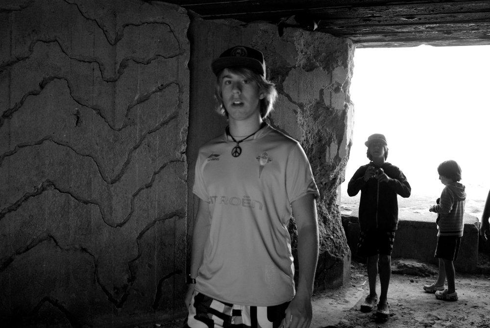 Bunker playa de Omaha