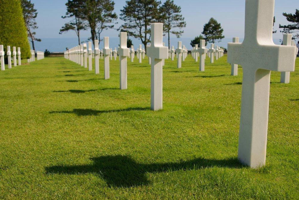 Cementerio americano Normandía