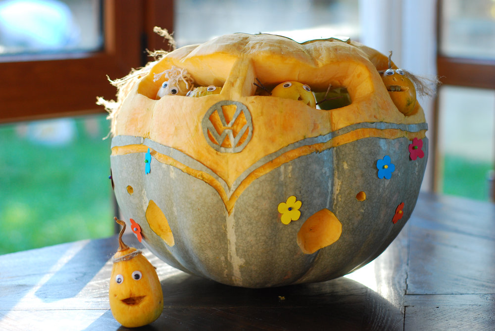Samain Halloween Calabaza Van
