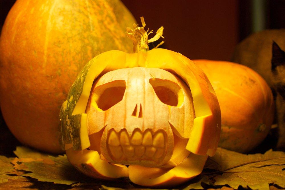 Samain Halloween Calabaza Calavera
