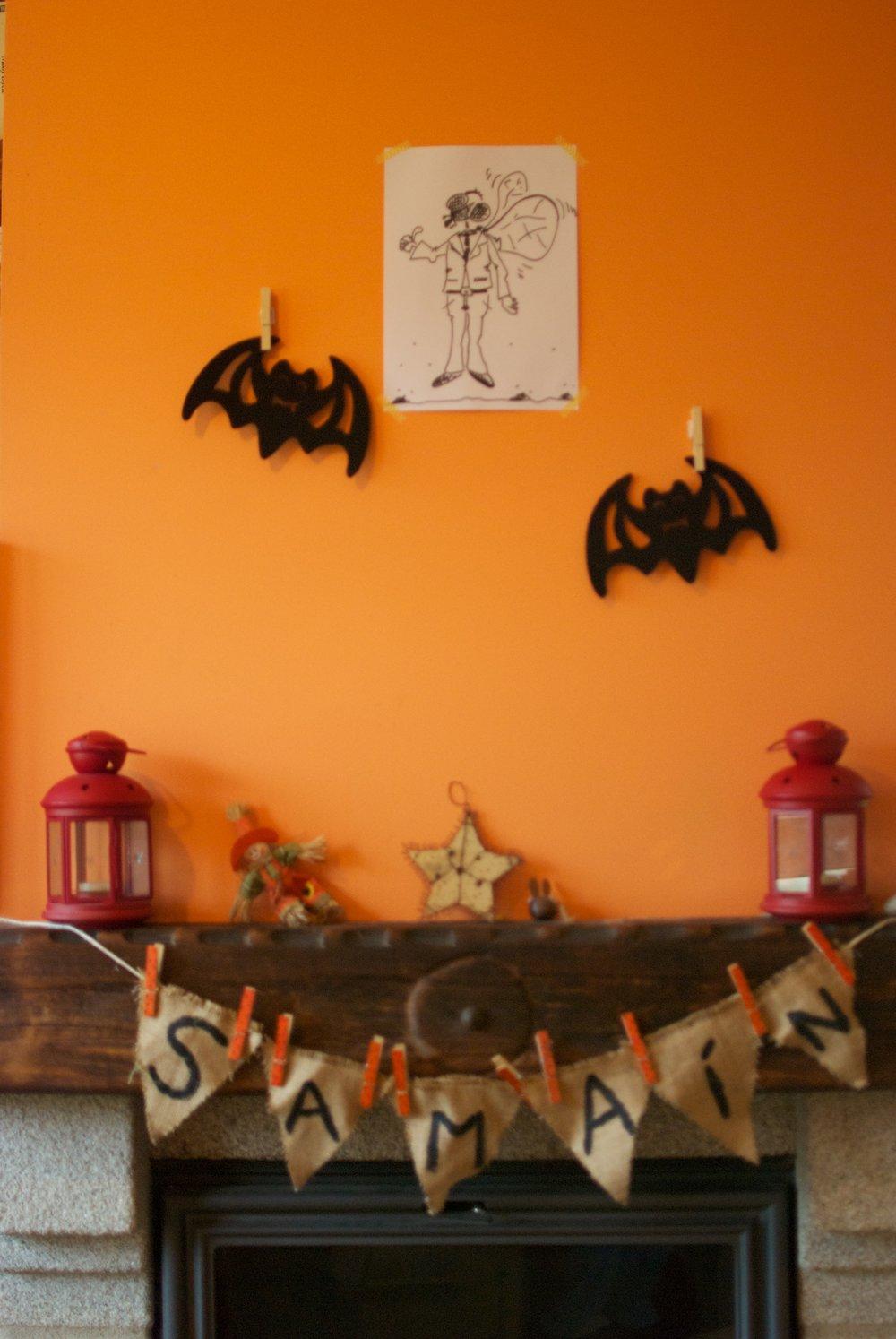 Decoracion fiesta halloween