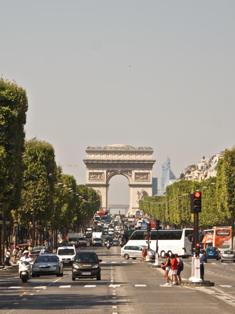 Arco del Triunfo. París