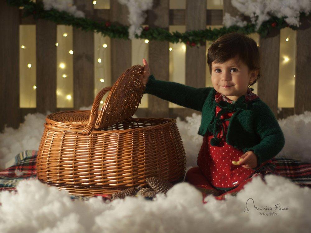 Sesión fotografia Navidad niños