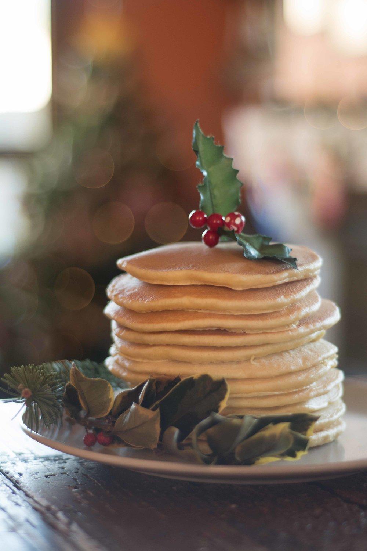 Receta cortitas o pancakes