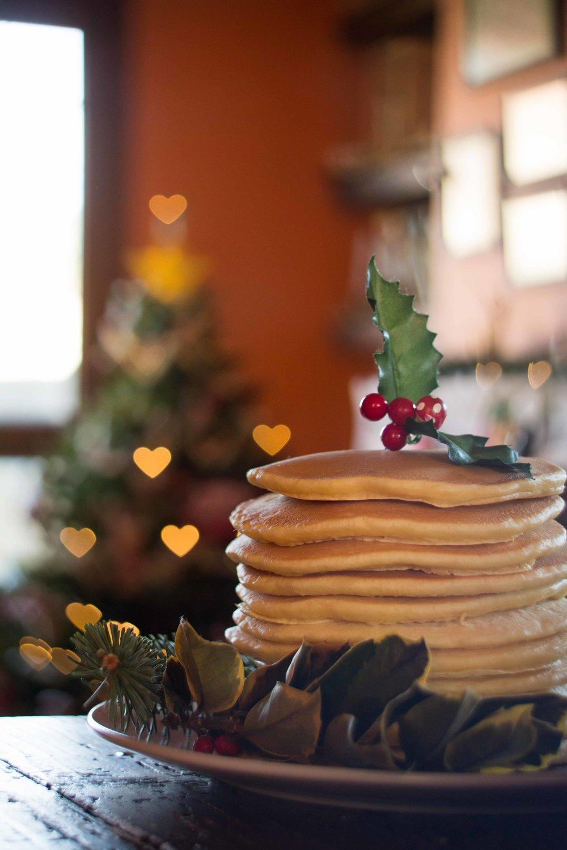 Receta tortitas o pancakes