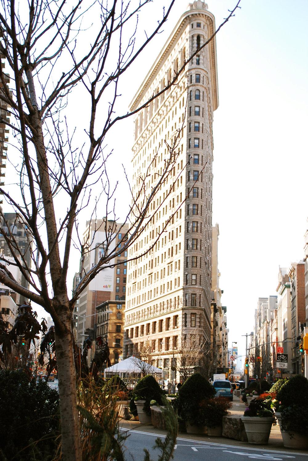 Flat Iron Nueva York