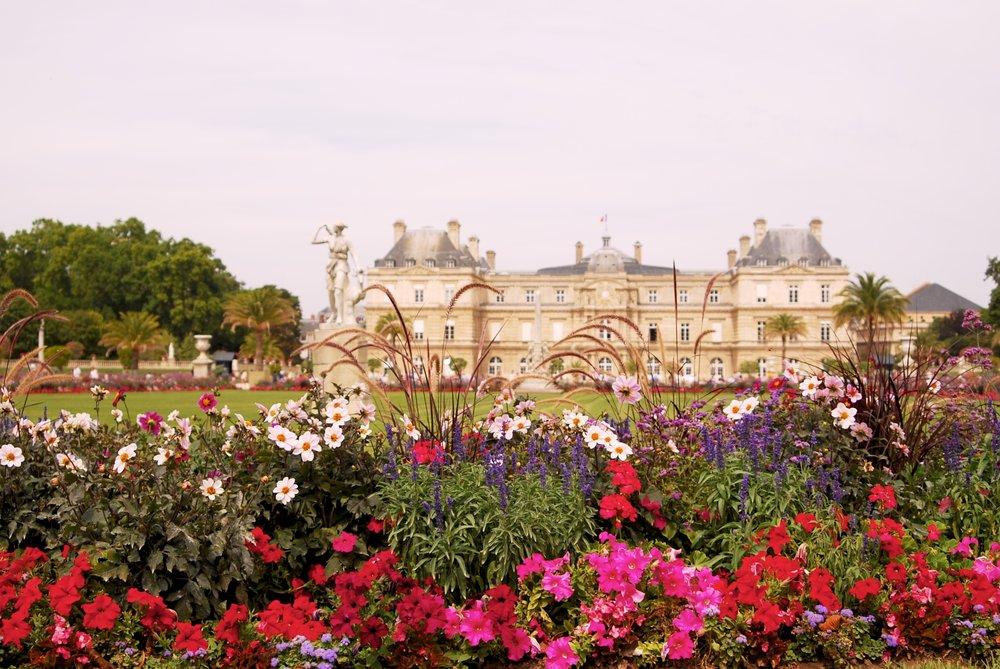 Jardines de Luxemburgo, Paris