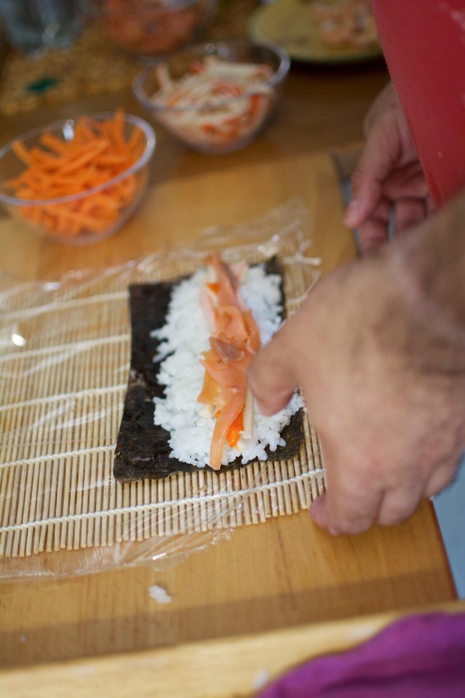 Receta sushi