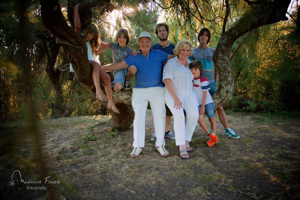 Sesión de fotos de familia
