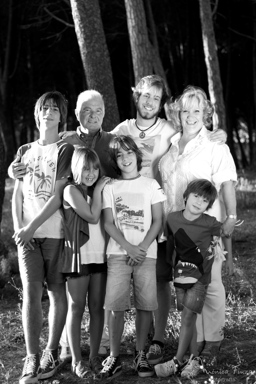 Sesión fotos abuelos y nietos