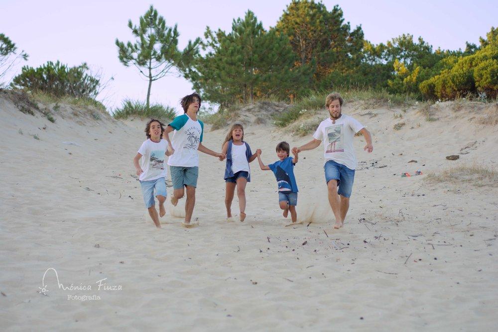 Sesión fotos familia