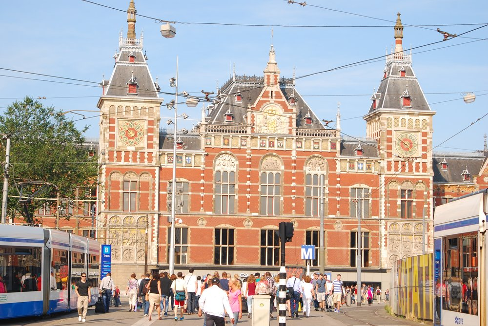 Estación Amsterdam