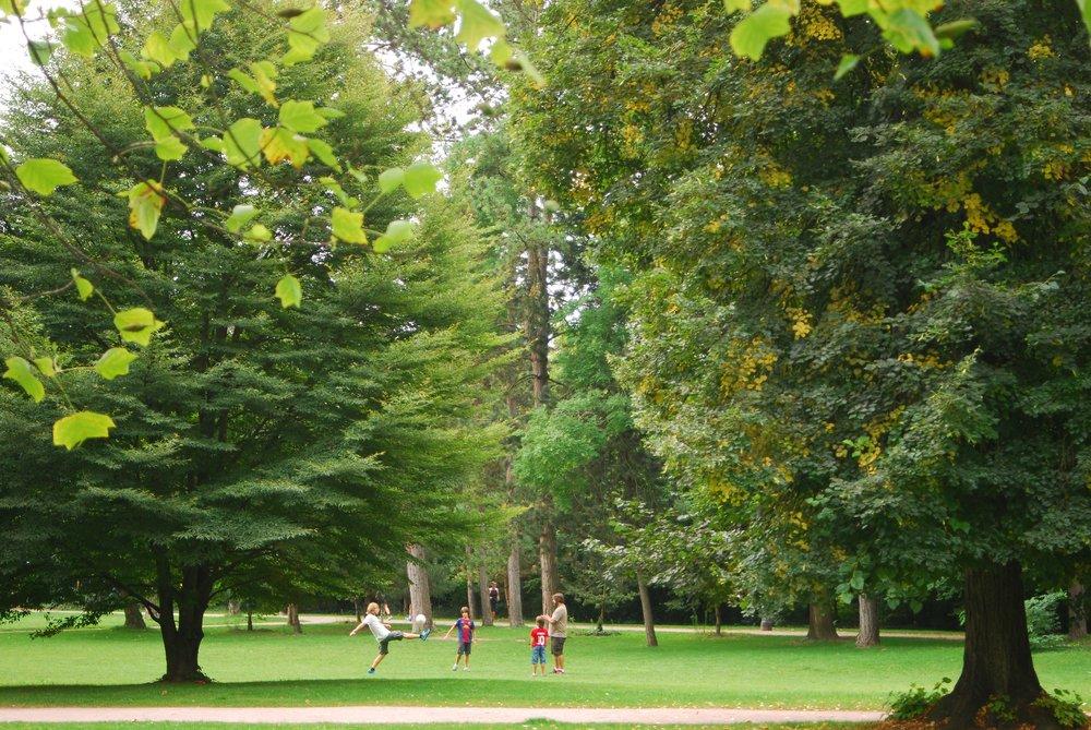 Parque de l'Orangerie en Estrasburgo