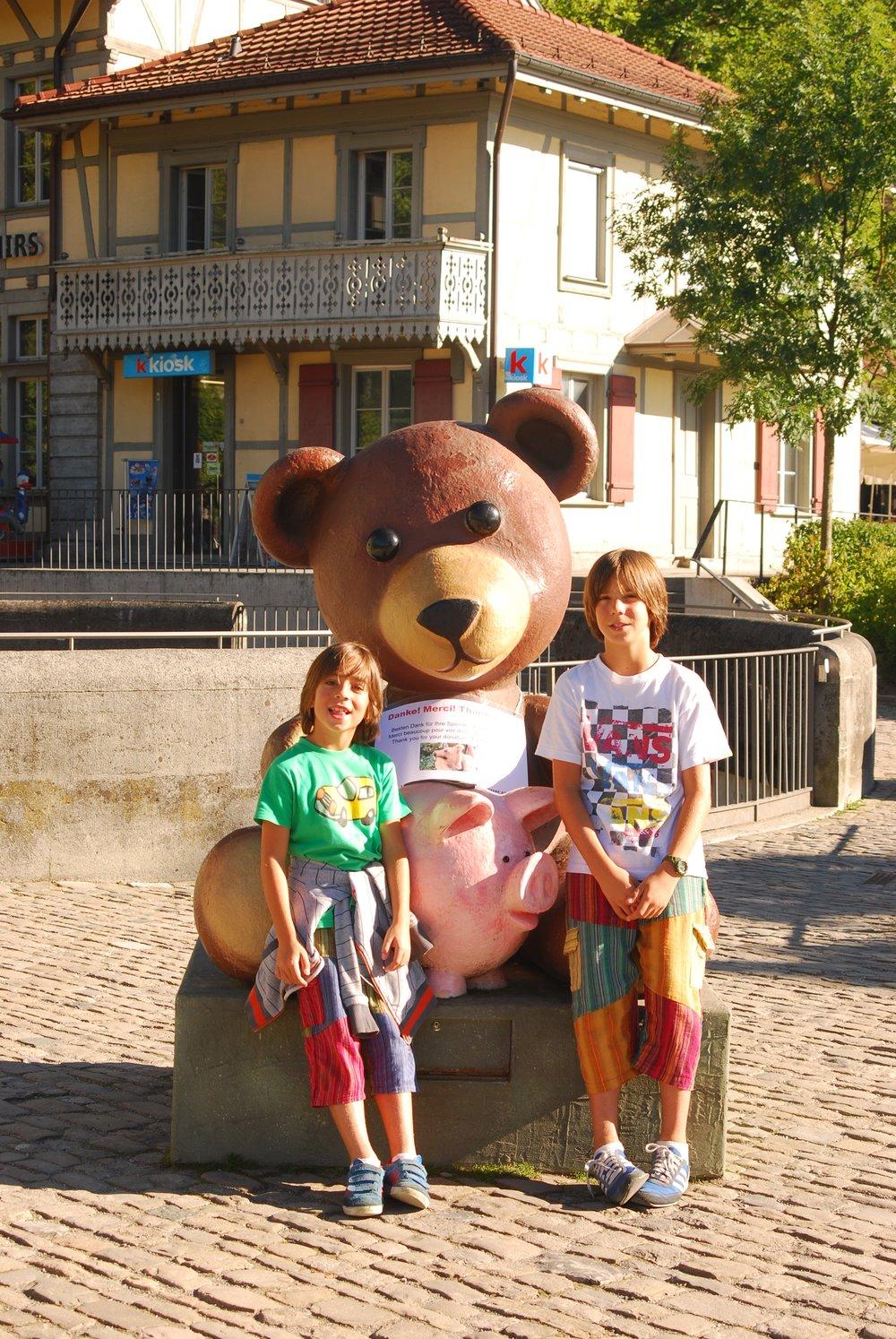Berna con niños