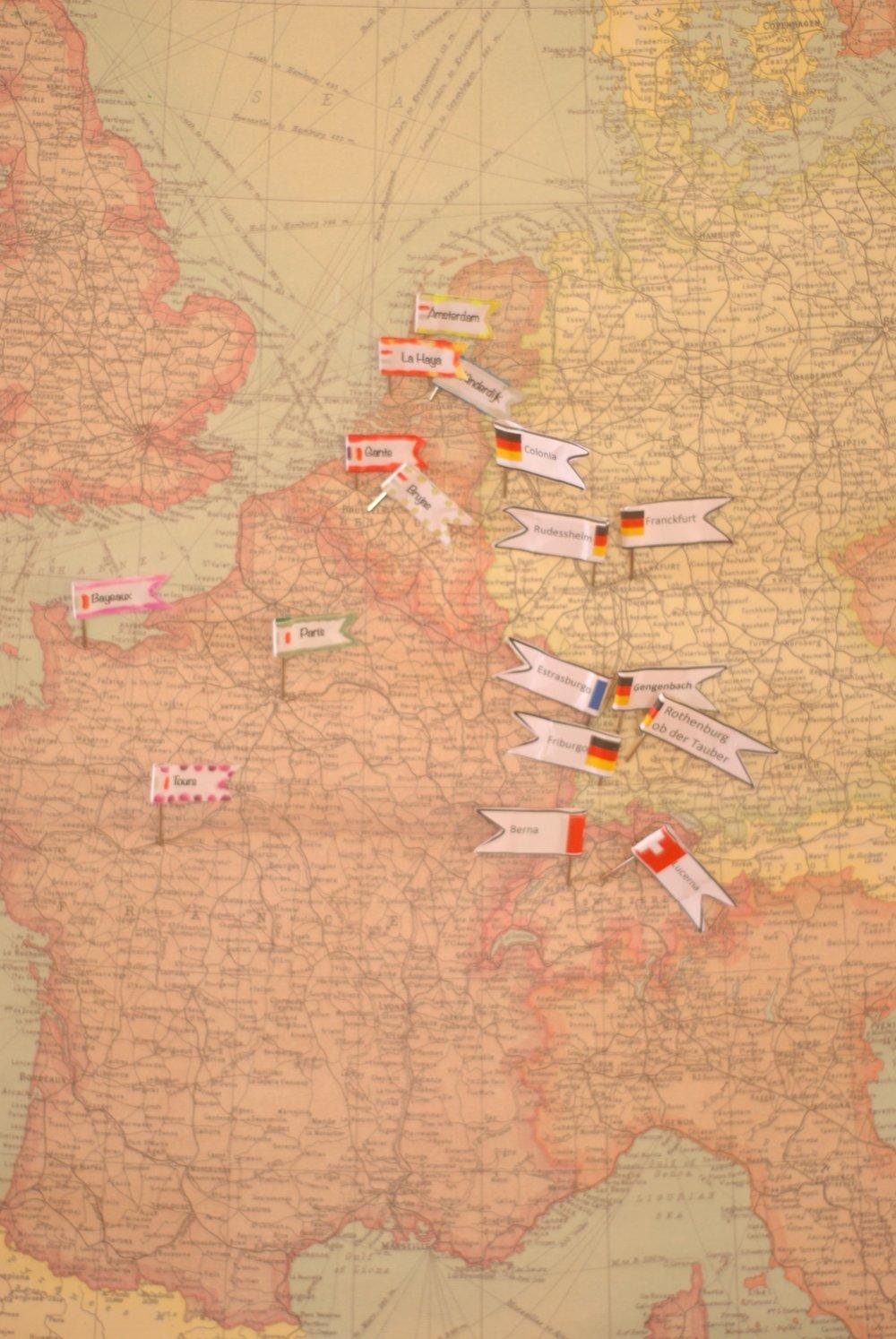 Roadtrip por Europa con niños