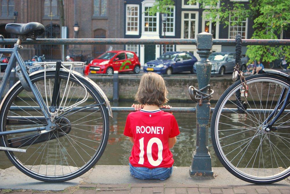 Roadtrip por Europa con niños. Amsterdam