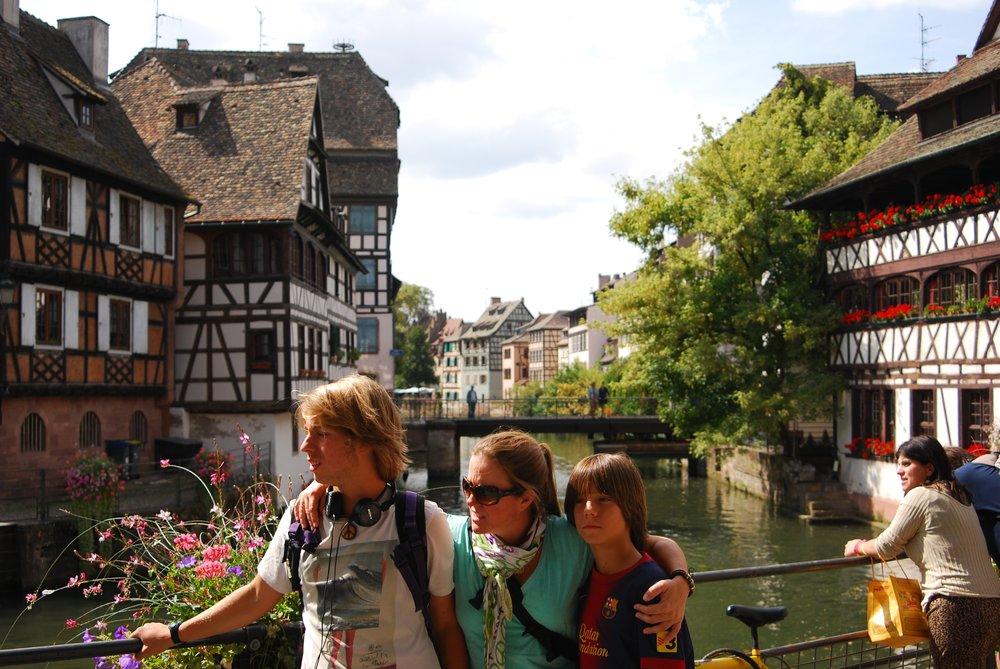 Estrasburgo me dejó enamorada