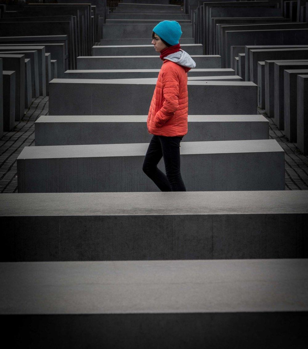 Monumento a los judíos de Europa asesinados. Berlín