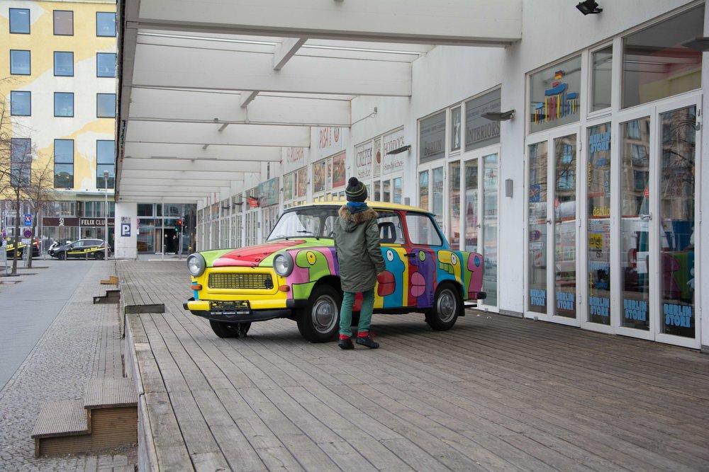 Coche Berlin Trabant Trabbi