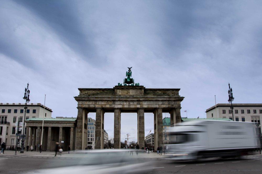 Berlín. Puerta de Brandeburgo